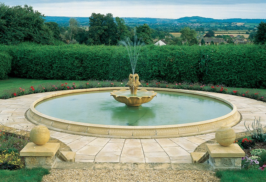 Renaissance Cast Stone Fountains